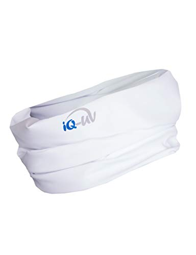 iQ-UV UV 300 Tube Multifunktionstuch, White, 54cm