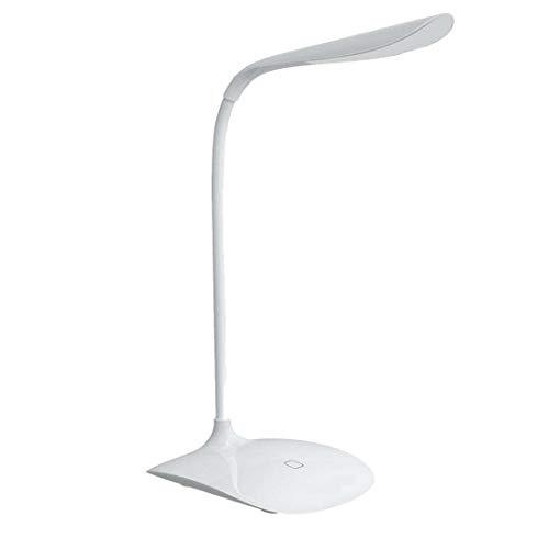 Salandens LED Libro de Lectura,Lámpara de Escritorio, USB Cable de Carga Incluido, Protección de los ojos, sensible al tacto de control, Ahorro Energía