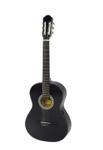 Kay C 917 Konzert Gitarre schwarz 4/4