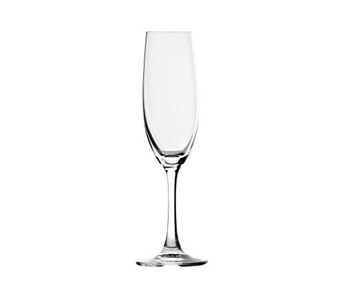 Toujours Cristal de Sèvres Hysope-Set de Deux Verres à Flûte Champagne