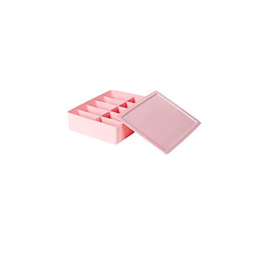 C-Bin-1 Real nuttige ondergoed box, BH broekjes opbergdoos woonkamer kledingkast opbergdoos stofdicht met deksel rooster waterdicht aan de dagelijkse behoeften