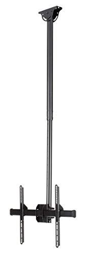 StarTech.com Flachbildschirm Deckenhalterung - für 32 bis 75 Zoll LCD, LED oder Plasma TV - schwenkbar für gewölbte Decken
