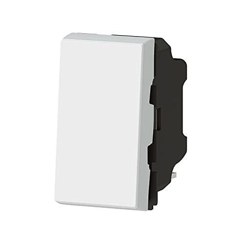 Legrand 538318 empotrable, Simple o rápido si se combina con un Segundo Interruptor Easy LED, Gama Mosaic – Modelo reducido en tamaño – Creador de Ambiente Luminoso