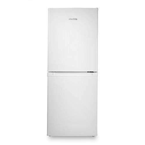 electriQ 155 Litre Freestanding Fridge Freezer 50/50 Split A+ Energy Rating 50cm Wide - White