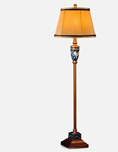 DHFUIH Lámpara de pie Sala de Estar Lámparas de pie de Campo Decoración de Estudio Lámparas de pie (decoración del hogar)