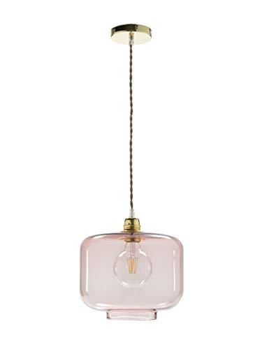 Els Banys 09012952 Lámpara de Techo Walli, Rosa