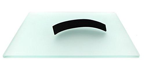 Mousepad in vetro temperato satinato all'acido GlassPad 25 x 25cm