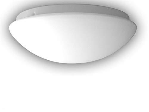 Plafonnier à LED plafonnier LED Bol Ø 20 cm en verre opale mat, Belle Vestibule avec fermeture à baïonnette