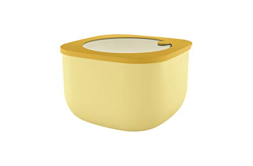 Guzzini 170705165 Kitchen Active Design Airtight Containers, PP|TPR, Giallo (Ochre)