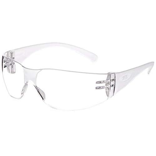 3M Virtua Slim Fit Occhiali di protezione con lenti trasparenti, antigraffio e anti-appannamento, 71500-00008