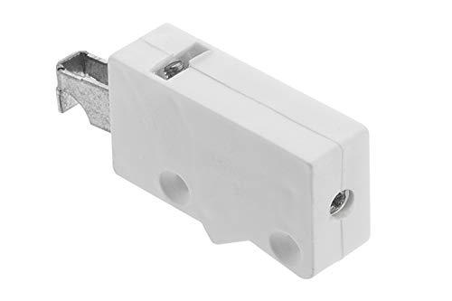 2 X Mprofi MT® (1 Par) Armario colgador Armario Armario superior de suspensión soporte para armario para tornillos Acero galvanizado