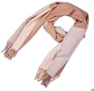 SCIARPA lunga con frange inverno sciarpa cerchio a maglia sciarpa lavorata a Maglia Scialle morbido XXL Colorato