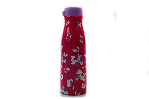 TUPPERWARE Borraccia termica Fashion Flask 410 ml fantasia floreale rosa 38571