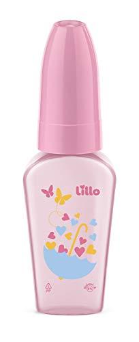 Mamadeira Chuquinha Primeiros Passos Látex, Lillo do Brasil, Rosa, 50 ml