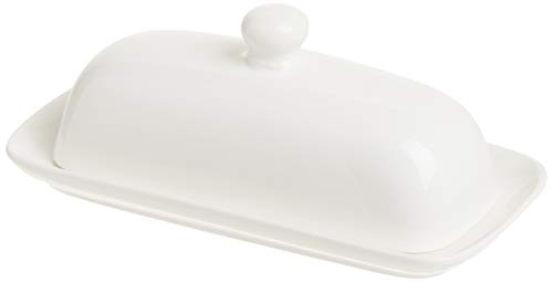 Norpro Porcelain Butter Dish with Lid