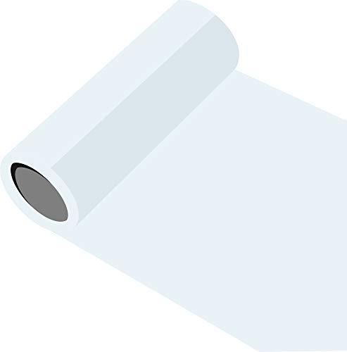 Oracal 651 - Orafol glänzend - glanz - für Küchenschränke und Dekoration Folie 5m (Laufmeter) - 63 cm Folienhöhe - 10 - weiß glänzend Autobeschriftung Wandschutzfolie Möbel Aufkleber