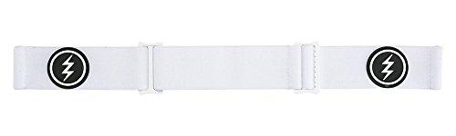 Electric Unisex– Erwachsene EG2.5 Snowboardbrille, weiß Silber, One Size