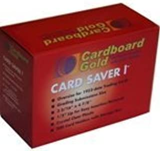 Cardboard Gold 200ct Card Saver 1 - Semi Rigid Sleeves Protectors - PSA - BGS - Graded Card Submissions