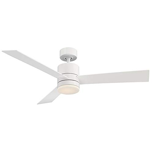 Axis Indoor/Outdoor 3-Blade Smart Ceiling Fan 52in Matte...