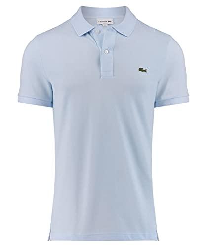 Lacoste Herren Polo T-shirt Ph4012, Blau (Ruisseau), Medium (Herstellergröße: 4)