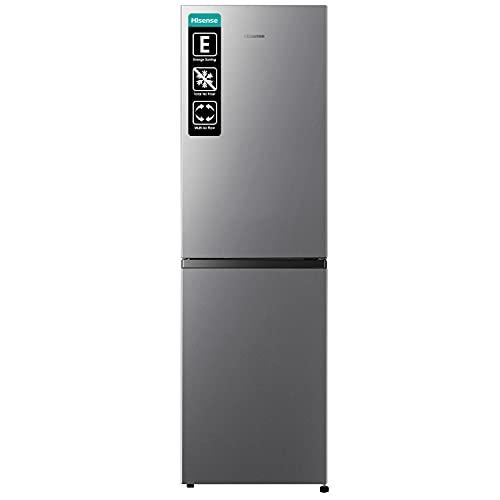 Hisense RB327N4AD2 Kühl-Gefrierkombination/ NoFrostPlus/ Multiflow 360°/ HolidayMode/ FreshZone/ 182,4 cm/ Kühlteil 171 l/ Gefrierteil 85 l/ 41 dB/ 287 kWh/ Jahr/ Inox-Look