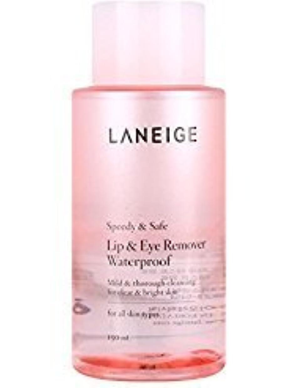 アジャ観点試用Laneige Lip & Eye Makeup Cleanser Waterproof 5.1fl.oz./150ml [並行輸入品]