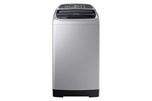 Samsung 7 Kg Fully-Automatic Top Loading Washing Machine (WA70N4422VS/TL, Silver, Wobble Technology)