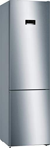 Bosch KGN393IDA Serie 4 Freistehende Kühl-Gefrier-Kombination / A+++ / 203 cm / 182 kWh/Jahr / Inox-antifingerprint / 279 L Kühlteil / 87 L Gefrierteil / NoFrost / VitaFresh