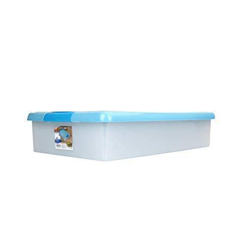 Kinderboeken Grote capaciteit Storage Top Box, Quilt handdoek Storage Box onder het Bed Wardrobe met Deksel Box superimposeerbaar waterdichte doos Geschikt voor studentenflat