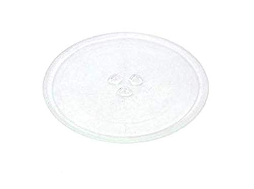 Find A Spare Universal Turntable Glass Plate for Tesco Panasonic Samsung Russell Hobbs Microwave Oven 255mm with 3 Fixers