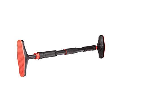 ELANI ® Klimmzugstange für Türrahmen ohne Schrauben mit sicherer Gewindesperre I [70-90cm] Pull Up Bar für Türe I Tür Klimmzug Stange bis 300kg
