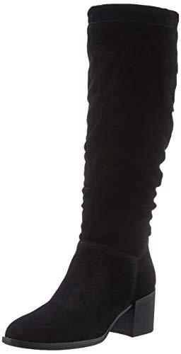 Tamaris Damen 1-1-25573-25 Kniehohe Stiefel, schwarz, 38 EU