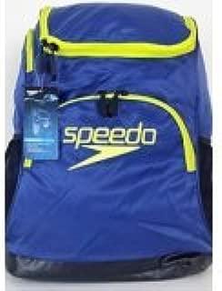 Speedo Quantum 35L Navy/Yellow Laptop Padded Backpack