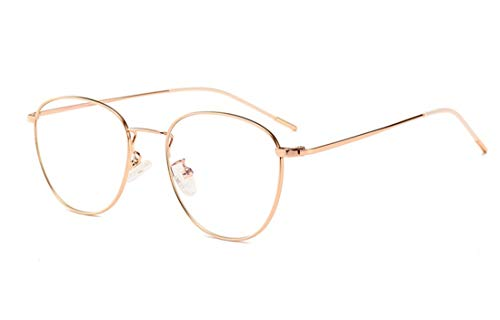 Blaulichtfilter Brille Damen Herren Metall Frame Retro Blockieren Blaulicht Gaming brille Computerbrille