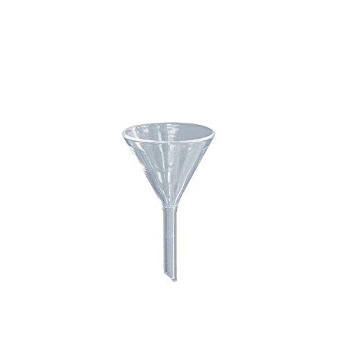 1 x Glastrichter Ø 35mm - Borosilikat 3.3-60° Winkel - Glas-Trichter - Trichter aus Glas - Labortrichter