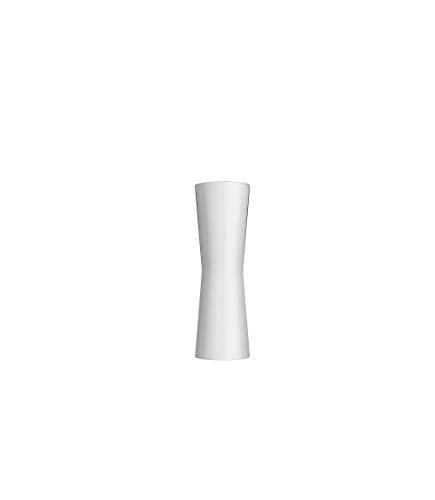 Flos CLESSIDRA 20° EU/SA BCO LUC, Aluminium, weiß, 24,2x7,26cm
