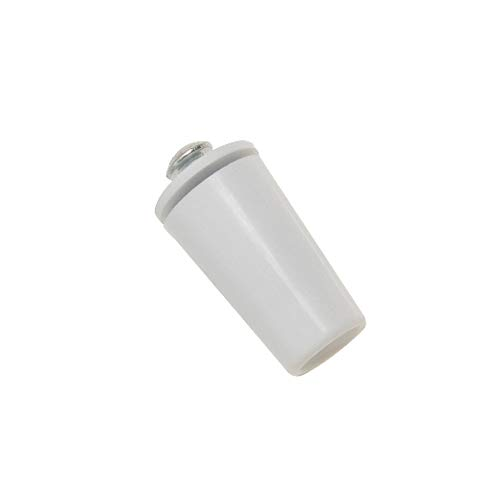 WOLFPACK 25010245 Tope Persiana Con Tornillo 40 Mm Blanco (1 unidad)