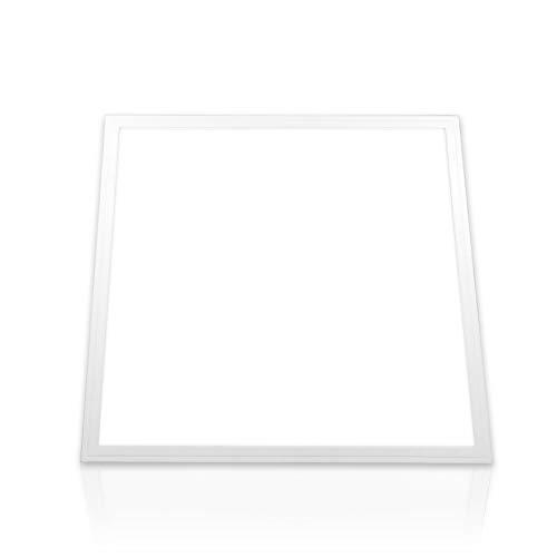 LED Panel 60x60 cm kaltweiß tageslichtweiß 6000K PMMA 40W Büro Deckenleuchte LED Rasterleuchten Einbauleuchten (ohne Montagematerial) Serie PLe2.1