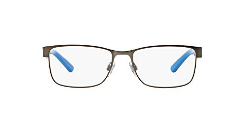 Ralph Lauren Men's 0PH1157 Eyeglass Frames, Matte Gunmetal, 53