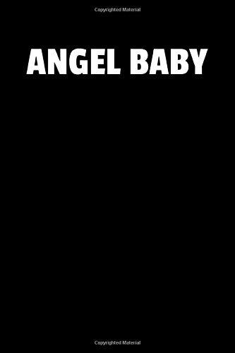 Angel Baby: Notizbuch Journal Tagebuch 100 linierte Seiten | 6x9 Zoll (ca. DIN A5)
