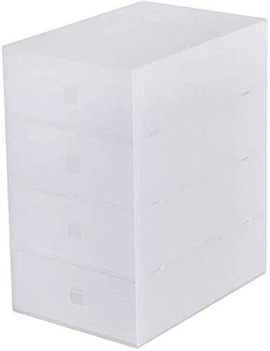 Archivadores Archivadores 4 cajones de plástico cajonera de Oficina Papel Clasificador de Armario de Almacenamiento Organizador (Color Transparente) Muebles for el Hogar Oficina Caja de Archivo