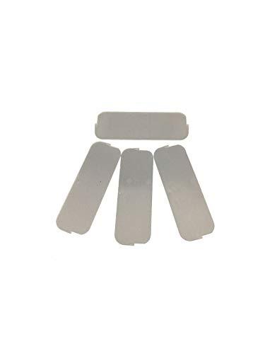 Buchsteiner Ersatz-Trennstege zu Klickbox flach (4 Stück)