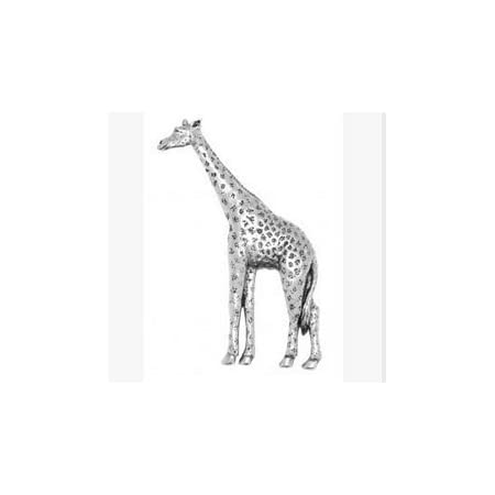 Giraffe Lapel Pin Badge In British Pewter Gifts For Him