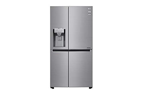 LG GSL960PZVZ American-Kühlschrank, 180 cm, 601 Liter, Edelstahl, Anti-Fingerprint