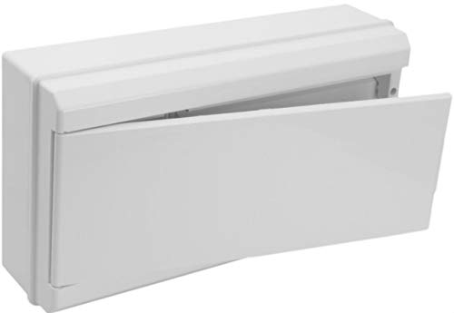 Solera 698CB - Conjunto caja, tapa, marco y puerta blanco para caja...