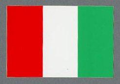 イタリア1248/イタリアイタリア国旗 ステッカー /パッケージサイズ115mm × 60mm  /No.1248 イタリア国旗 ステッカー(ヘルメット、バイク、スクーター、車、etc貼れます。