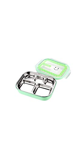 Tazón de Tres Pisos con Tapa y Bolsa Aislante de Acero Inoxidable Aislante para el Almuerzo, Caja de Verduras para Adultos y Estudiantes