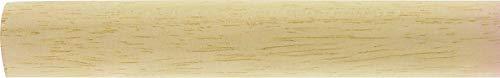 Barre de rideau Ateliers 28 - Merisier - Longueur 1,5 m