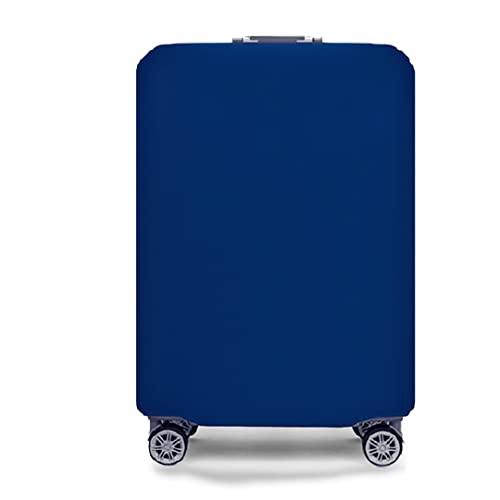 Funda para Maleta tamaño Mediano 58x37x24 cm - Antiarañazos y Repelente al Agua - 22/24 Pulgadas. (Azul, M)