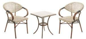 legs galore TOBs Retro 2 x Arm Chairs with 60cm Round Table sold
